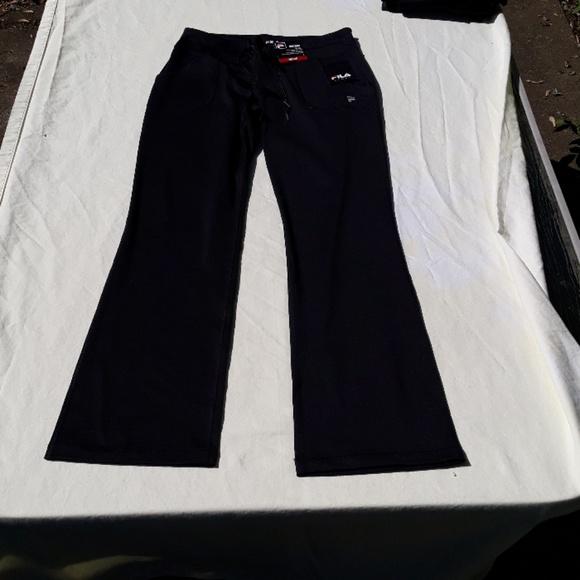 2b35a7a7fe593 Fila Pants | Nwt Sport Midrise Bootcut Yoga Navy | Poshmark
